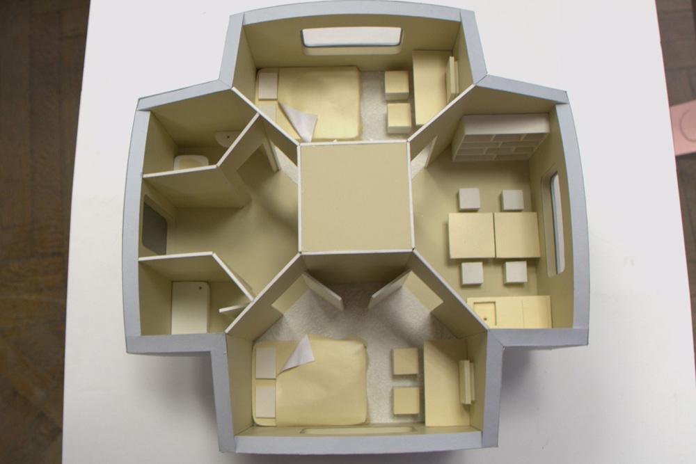 Как сделать макет комнаты из картона и бумаги